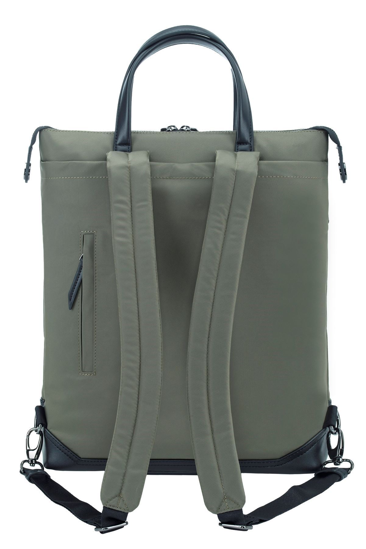 "Picture of 15"" Newport Convertible 2-in-1 Backpack (Olive)"