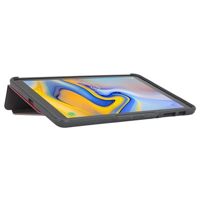 """Imagen de Funda Click-In para Samsung Galaxy Tab A de 10,5"""" (2018) en color fuchsia"""