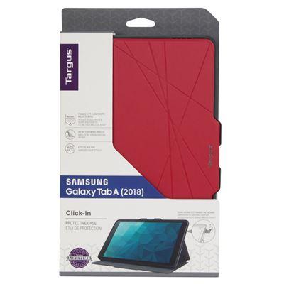 """Bild von Click-In-Hülle für Samsung Galaxy Tab A 10.5"""" (2018) - Fuchsia"""
