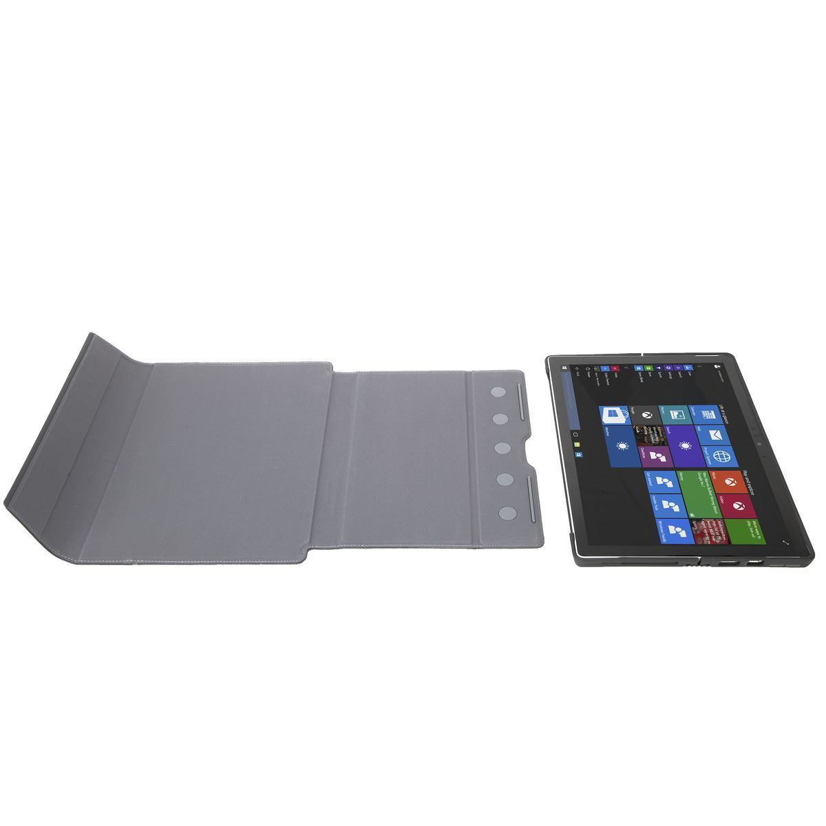 Picture of Signature Folio Wrap + Case Stand for Microsoft Surface Pro 6, Pro (2017) & Pro 4 - Ebony