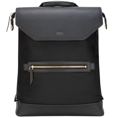 "Picture of 15"" Targus® Newport Convertible 2-in-1 Messenger Backpack (Black)"