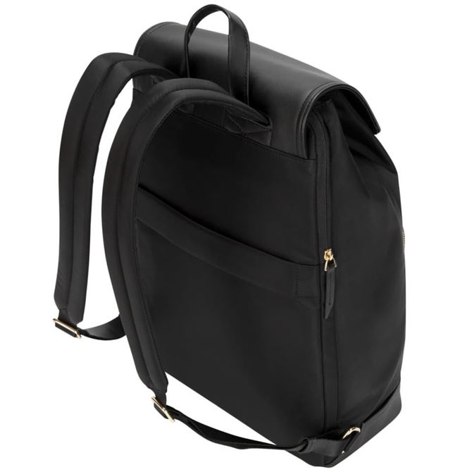 "Picture of 15"" Targus® Newport Drawstring Backpack (Black)"