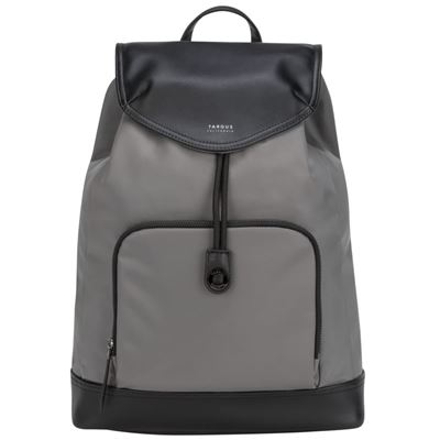 "Picture of 15"" Targus® Newport Drawstring Backpack (Grey)"
