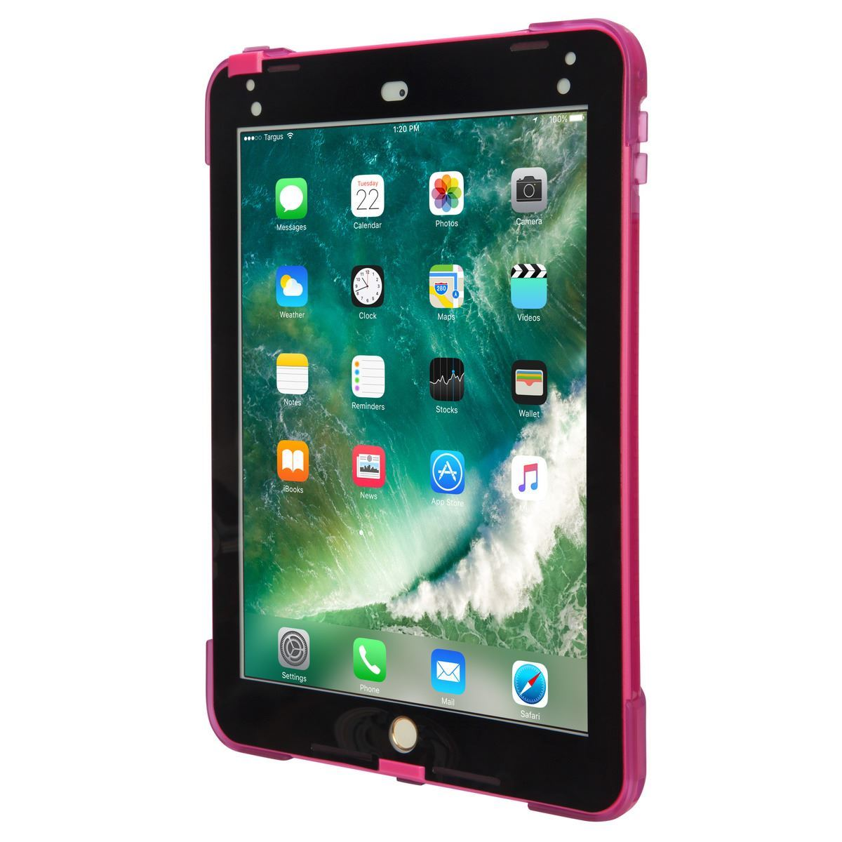 "Picture of Safeport® Rugged Case for iPad (2018/2017), 9.7""iPad Pro and iPad Air 2 (Pink)"