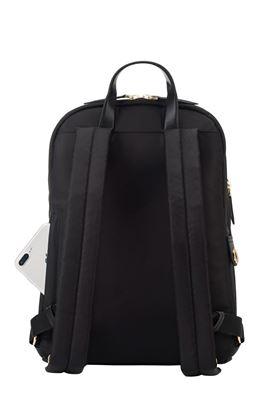 """Imagen de Mini Mochila para portátil de 12"""" Newport – Negro"""