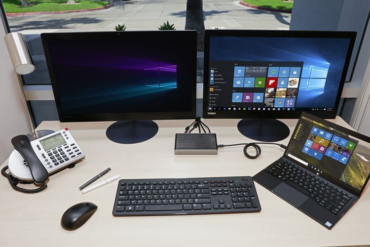 Supports Dual DisplayPort Monitors