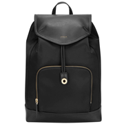 "Picture of 15"" Newport Drawstring Backpack (Black)"