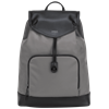 """Picture of 15"""" Newport Drawstring Backpack (Gray)"""
