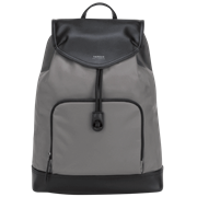 "Picture of 15"" Newport Drawstring Backpack (Gray)"