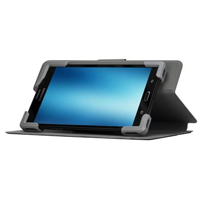 """Picture of Safe Fit™ Universal 7-8.5"""" 360° Rotating Tablet Case - Black"""