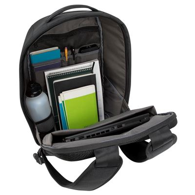 """Picture of Cypress 15.6"""" Security Backpack with EcoSmart® - Black"""
